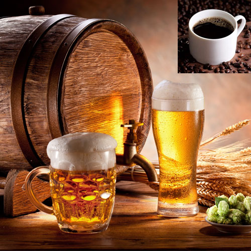 Say No to COFFEE and YES to Beer:Know why!! , research,  health research,  caffeine,  alcohol,  beer party,  coffee over a beer,  caffeine can shorten life expectancy,  say no to coffee and yes to beer,  health,  health tips