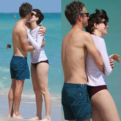 Now Anne and hubby Adam caught showing PDA! , celebrity couple get caught in pda,   anne hathaway and adam shulman,  now anne and hubby adam caught showing pda,  celebrity couple showing pda,  hollywood celebs caught showing pda,  entertainment,  hollywood,  hollywood gossips
