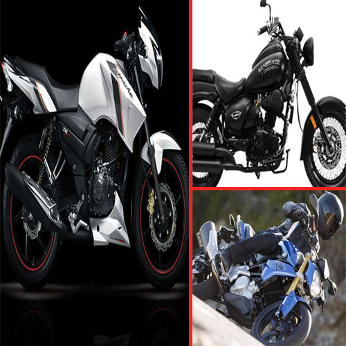 Top 10 forthcoming bikes in 2016, upcoming bikes in 2016,  10 forthcoming bikes in 2016,  tvs apache 200,   um renegade kruzer, 