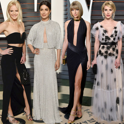 10Hotties steal show at Oscars after party, oscars 2016 after-party,  10 hottie steals the show at oscars 2016 after party,  hollywood divas steals the show at oscars 2016 after party,  priyanka chopra stuns big time at the oscars after party,  priyanka chopra,  taylor swift steal the show at after party,  oscars 2016 after-party red carpet,  hollywood news,