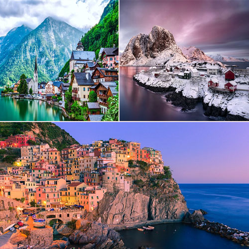 10 Real fairy-tale villages of the earth, 10 real fairy-tale villages of the earth,  the fairy-tale villages that make for a truly magical getaway,  beautiful villages around the world,  amazing villages of the world,  destinations,  travel,  ittle villages in breathtaking mountain ranges,  ifairer
