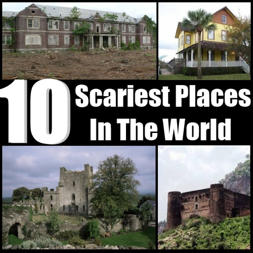 10 Scariest Places In The World!, haunted places in the world,  scariest places in the world,  haunted places,  scary places,  weird places,  travel,  ifairer