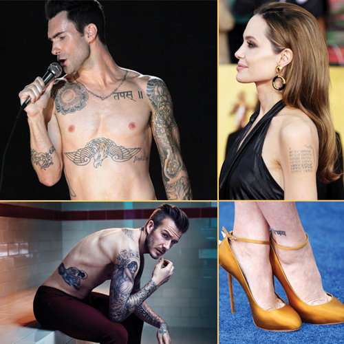 11 Hollywood Celebrities inked in Indian script, 11 hollywood celebrities inked in indian script,  hollywood celebrities with indian tattoos,  hollywood celebs who got marked in india,  famous hollywood celebrities with hindi tattoo,  entertainment,  hollywood,  ifairer