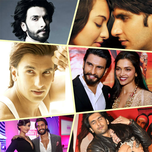 Transformation of Ranveer Singh over the years