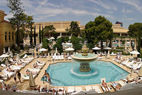 Bellagio Pools Slide 5