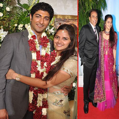 AHANA Deol's Reception Features lots of CELEBS.. , hema malini,  dharmender,  ahana deol,  vaibhav vora,  businessman,  sunday,  shahrukh khan,  deepika padukone,  ranveer singh,  juhi chawla with her husband,  juhi chawla,  asha bhosle, sonakshi sinha,  udhav thackeray,   bachchan family