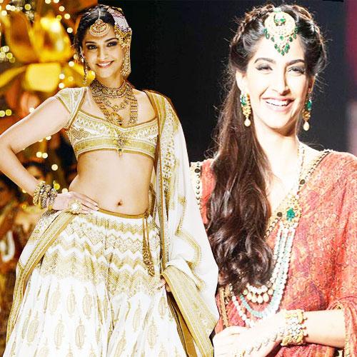 Pretty BRIDE of Harper's BAZAAR!, sonam kapoor,  bollywood fashionista,  harper's bazaar bride,  sonam kapoor in ethnic wear,  sonam kapoor in indian wear,  sonam kapoor bridal look,  bollywood,  debut edition of harper's bazaar bride 2014