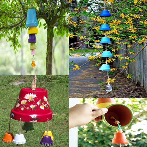 Use household waste to decorate your garden slide 6 for Use waste material to make something which is decorative