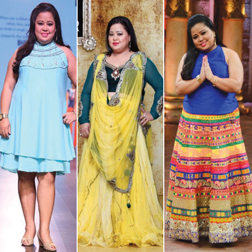 5 Plus Size Fashion Trends set by Comedian Bharti Singh, 5 plus size fashion trends set by comedian bharti singh,  stylish outfits every plus size can steal,  fashion trends by comedian bharti singh,  bharti singh fashion trends,  fashion trends,  ifairer