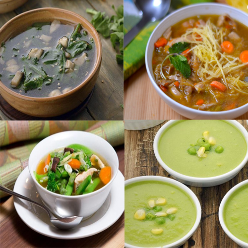 Recipes for healthy vegetable soups   , recipes for delicious and healthy homemade vegetable soups,  soup recipes,  vegetable soup recipes,  healthy soups for health freaks,  try out these healthy soups at home,  ifairer