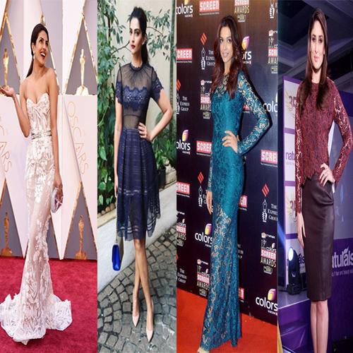 Bollywood Divas trending Laced attires