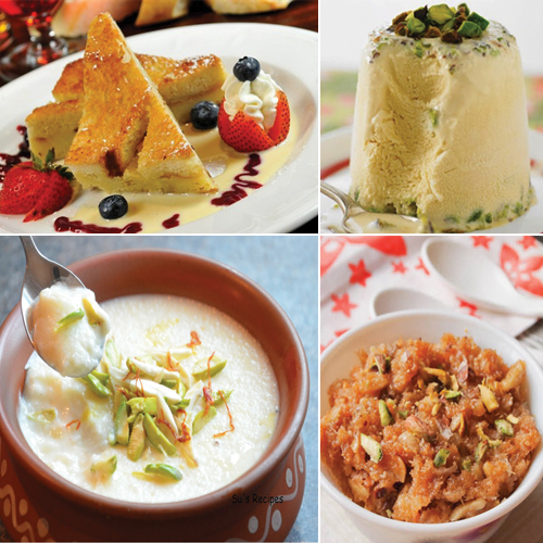 5 Yummy Indian Milk Dessert for all Sweet Tooth, 5 yummy indian milk dessert for all sweet tooth,  indian milk dessert,  milk desserts from india,  bread pudding,  sewai,  phirni,  almond malai kulfi,  mawa misri,  dessert,  recipe,  ifairer