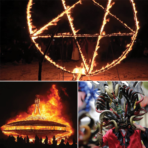 7 Famous Satanic Festivals of the World, 7 famous satanic festivals of the world,  satanic festivals,  worshipping the dark lord,  dark festivals of the world,  dark festivals,  satanic version of dark festivals,  travel,  destination,  ifairer