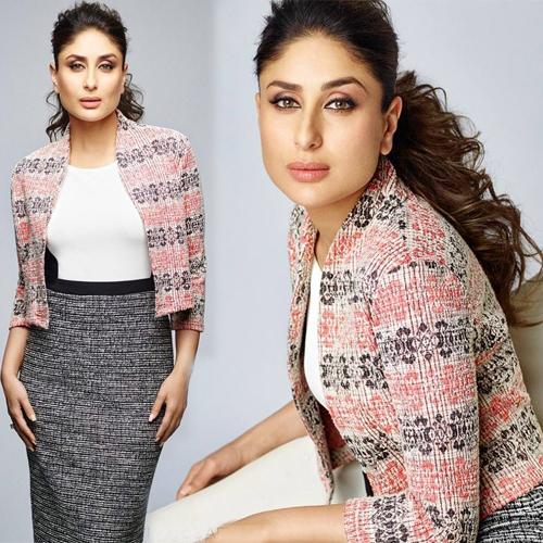 Kareena Kapoor looks ravishing while posing for Anita Dongre Slide 2