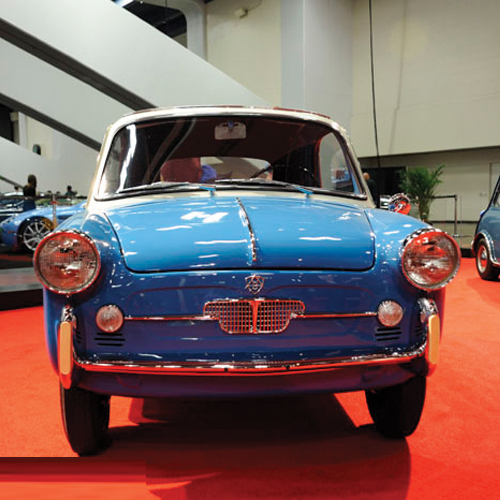 6 Cutest Teeny Tiny Cars Ever Made, 6 cutest teeny tiny cars ever made,  tiniest cars in the world,  mirai,  isetta,  goggomobil dart,  corbin sparrow,  coulson car,  autobianchi bianchina transformabile,  automobile,  ifairer