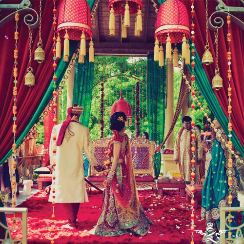 7 exotic wedding destinations from the land of india slide for Decor india jaipur