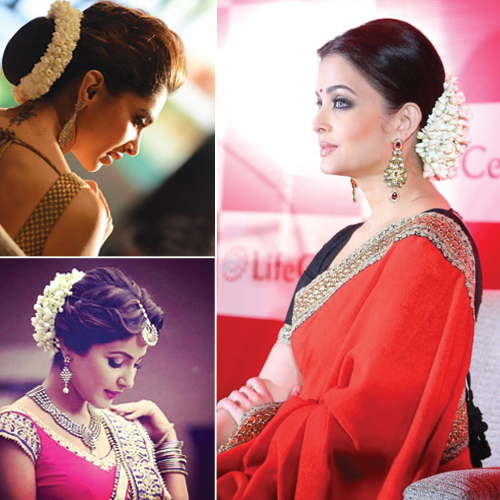 7 Beautiful Gajra Styles to Try This Season, 7 beautiful gajra styles to try this season,  beautiful gajra hair styles,  gajra styles for hair,  beautiful gajra styles you can flaunt,  fashion accessories,  fashion,  ifairer