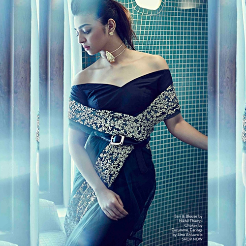 Radhika Apte Dons A Sensual Avatar In Saree For E Magazine