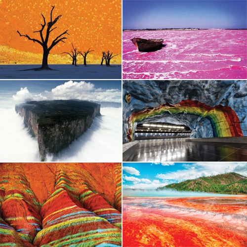 7 Surreal Places on Earth that is hard to believe in, 7 surreal places on earth that is hard to believe in,  places that do not look real,  camel thorn trees,  black forest,  lake hillier,  cave metro station,  destination,  ifairer