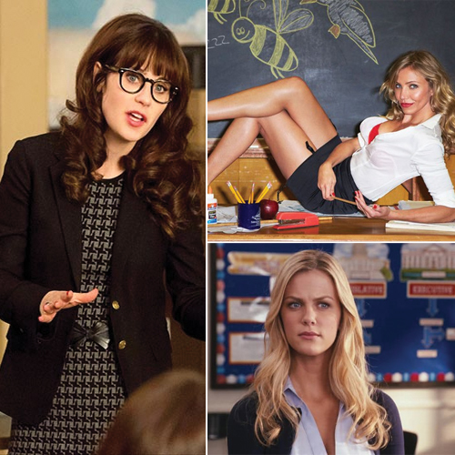 7 Hottest Hollywood On-Screen Teachers , 7 hottest hollywood on-screen teachers,  hottest on-screen teachers,  karina smirnoff,  charlie wheeler,  lisa zachey,  palmer,  elizabeth halsey,  jessica day,  maria von trapp,  hollywood