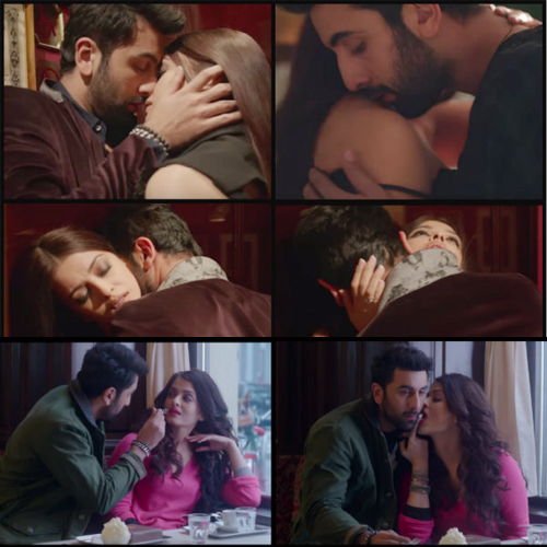 Aishwarya-Ranbir's sizzling chemistry in Bulleya song , aishwarya-ranbir sizzling chemistry in bulleya song,  aishwarya rai bachchan-ranbir kapoor new intimate scenes in bulleya song,  ranbir kapoor-aishwarya rai bachchan sizzling hot chemistry highlight of adhm song bulleya,  bollywood actress aishwarya rai bachchan,  bollywood actor ranbir kapoor,  upcoming bollywood movie ae dil hai mushkil,  bollywood news,  bollywood gossip,  ifairer