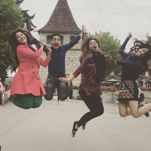 In 10 pics:Yeh Rishta Kya Kehlata Hai's fun shooting in Zurich