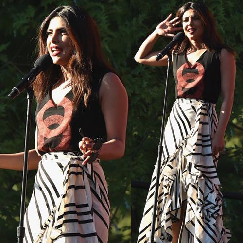 Priyanka Chopra steals the show at Global Citizen Festival
