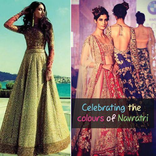 Presenting 7 Festive Lehenga Trends of B-Town in VIGBYOR options , presenting 7 festive lehenga trends of b-town in vigbyor options,  festive lehenga trends of b-town,  navratri lehenga trends,  colorful lehenga trends of bollywood for navratri,  fashion trends,  ifairer