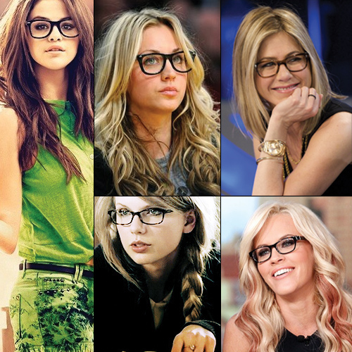 8 Celebs that look insanely hot when go nerdy, celebs that look insanely hot when go nerdy,  ridiculously hot looking celebs with glasses,  anne hathaway,  jenny mccarthy,  rihanna,  taylor swift,  penny,  selena gomez,  megan fox,  jennifer aniston,  ifairer
