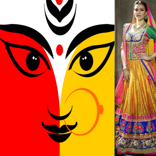 Goddess and Devotees: Dress in 9 colours for 9 days of Navratri , navratri special,  goddess & devotees,  dress in 9 colours for 9 days of navratri,  dress colours for each day of navratri,  nine colours for each day of navratri,  significance of colours in navratri,  spirituality,  ifairer