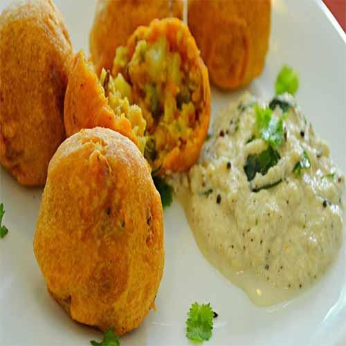 How to make Vegetable Bonda, how to make vegetable bonda,  vegetable bonda recipe,  make delicious vegetable bonda,  south indian snack,  tea time snack recipe,  ifairer