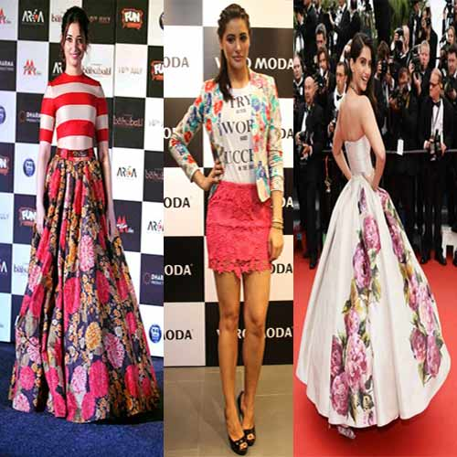 Floral love is back in trend, floral love is back in trend,  floral clothes in trend,  what are trends of 2016,  what bollywood actress are trending,  which style is in fashion,  trends of 2016,  ifairer