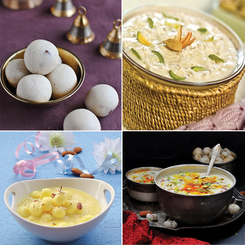 Relish in 5 Yummy Vrat Desserts this Navratri, relish in 5 yummy vrat desserts this navratri,  fasting recipes for navratri,  rajgira kheer,  paneer kheer,  sabudana laddoo,  makhana kheer,  sabudana kheer,  dessert,  recipe,  ifairer