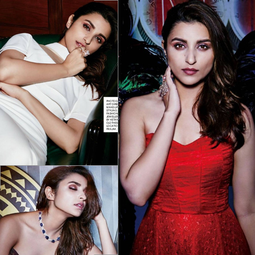 Parineeti Chopra is the new figure on the cover of Hi Blitz , parineeti chopra is the new figure on the cover of hi blitz,  parineeti chopra features on the cover of hi blitz magazine october 2016,  parineeti chopra latest photoshoot,  bollywood actress parineeti chopra,  bollywood news,  bollywood gossip,  ifairer