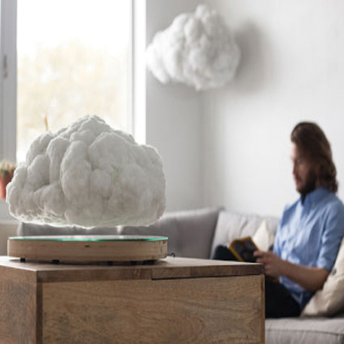 This Floating Cloud Speaker is synonymous to indoor thunderstorms , this floating cloud speaker is synonymous to indoor thunderstorms,  floating cloud speaker,  smart cloud,  smart cloud in india,  technology,  gadget,  ifairer