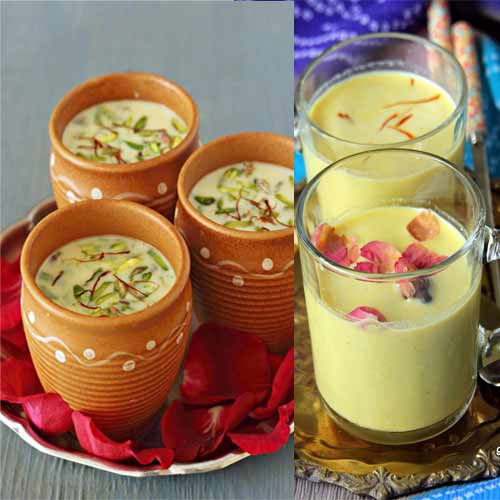 How to make delicious Thandai at home