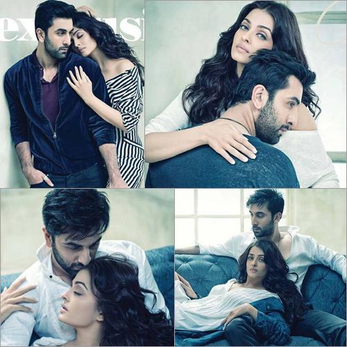 Ranbir and Aishwarya's intense chemistry on Filmfare