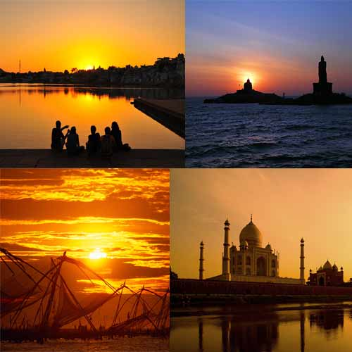 Best destinations for beautiful sunset views in India , best destinations for beautiful sunset views in india,  places to view sunset in india,  what are  sunset destinations  in india,   list of sunset destinations  in india,   best places to capture sunset selfies in india,  ifairer
