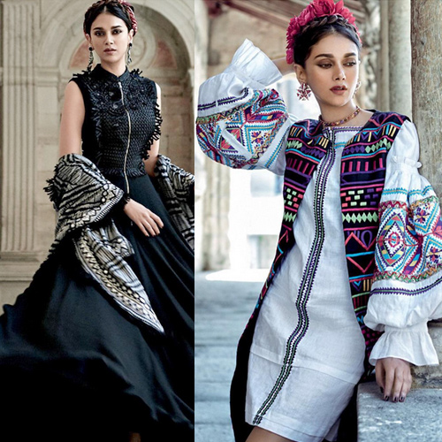 Accessories with Indo-western blend, try this season, accessories with indo-western blend,  try this season,  new fashion goals to try this season,  unique fashion statement with accessories,  unique accessories of aditi rao hydari,  fashion accessories,  ifairer
