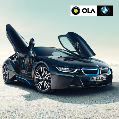 Ride in BMW with OLA cab service, ride in bmw with ola cab service,  ola teams up with bmw for enhanced cab experience,  ola teams up with bmw,  ola partners with bmw to offer luxury cabs,  technology,  automobile,  ifairer