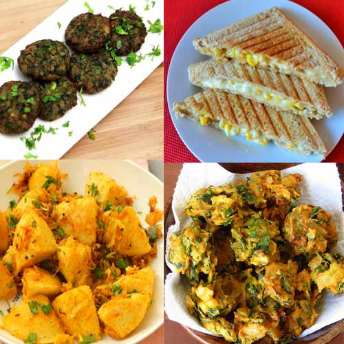 Diwali Special:  Snacks to cook in 10 minutes