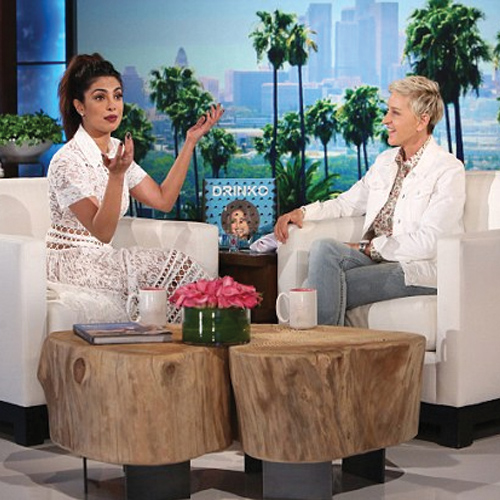 Priyanka Chopra gives a `smooth interview` for Ellen with tequila, priyanka chopra gives a 'smooth interview' for ellen with tequila,  priyanka chopra on ellen degeneres show,  priyanka chopra slays ellen degeneres show with tequila,  hollywood,  ifairer