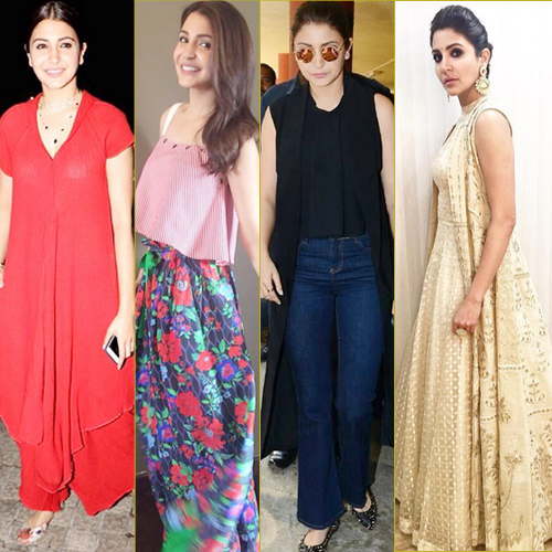 Anushka Sharma sets 8 new fashion trends at ADMH promotion, anushka sharma sets 8 new fashion trends at admh promotion,  anushka sharma promotes ae dil hai mushkil,  anushka sharma new fashion goals of 2016,  anushka sharma fashion statement,  fashion trends 2016,  bollywood actress anushka sharma,  ifairer
