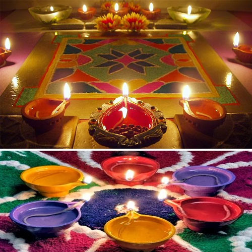 Designing Your House This Diwali With Diyas, Rangoli