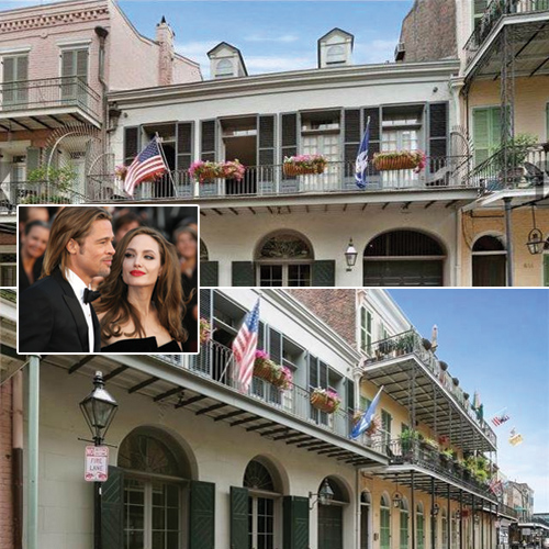And Sold! Ex-Brangelina sell their 9-year-old New Orleans House , ex-brangelina sell their 9-year-old new orleans house,  brad and angelina sell mansion amid divorce,  brad pitt and angelina jolie unload their new orleans home,  hollywood,  entertainment,  ifairer