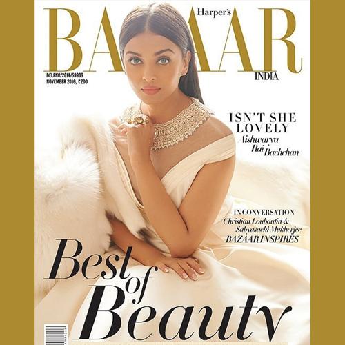 Aishwarya Rai looks the untouched beauty on Harper`s Bazaar, aishwarya rai looks the untouched beauty on harper`s bazaar,  aishwarya rai looks stunning on harper`s bazaar cover,  aishwarya rai photo shoot for harper`s bazaar,  fashion,  ifairer