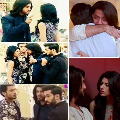 Om furious at Ridhima for helping Tej betray Shivaay, breaks up