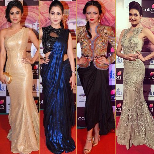 ITA Awards 2016: TV divas steal the show, ita awards 2016: tv divas steal the show,  ita awards 2016,  mouni roy,  rubina dilaik,  asha negi,  surveen chawla,  helly shah,  karishma tanna,  roshni chopra,   debina bannerji,  sriti jha,   shubhangi ater,  fashion trends 2016,  ifairer
