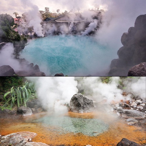 In pics: World`s largest volcanic spring resort Beppu in Japan, world`s largest volcanic spring resort beppu in japan,  japanese town beppu,  largest volcanic spring resort in the world,  travel,  destination,  ifairer