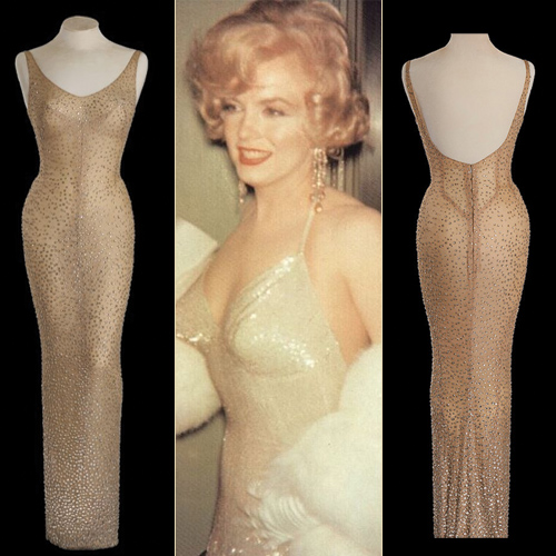 Marilyn Monroe`s gown sold for record 4.8 Million USD, marilyn monroe`s gown sold for record 4.8 million usd,  marilyn monroe`s gown sold,  marilyn monroe`s happy birthday,  mr president dress sold,  hollywood,  entertainment,  ifairer